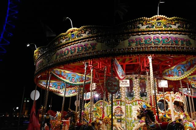 Merry-Go Round, Southbank, London