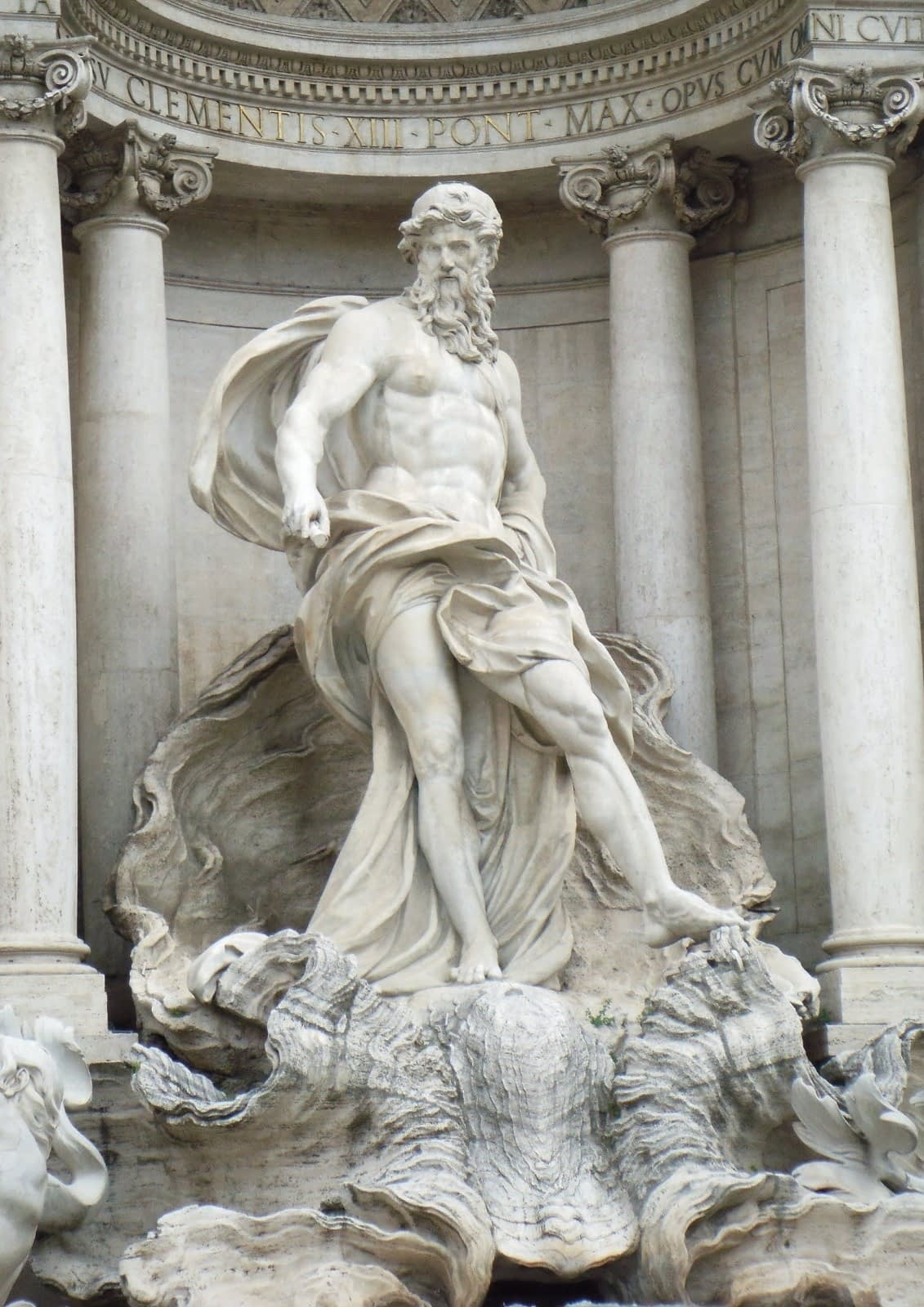 In Photos: Trevi Fountain Facts 3