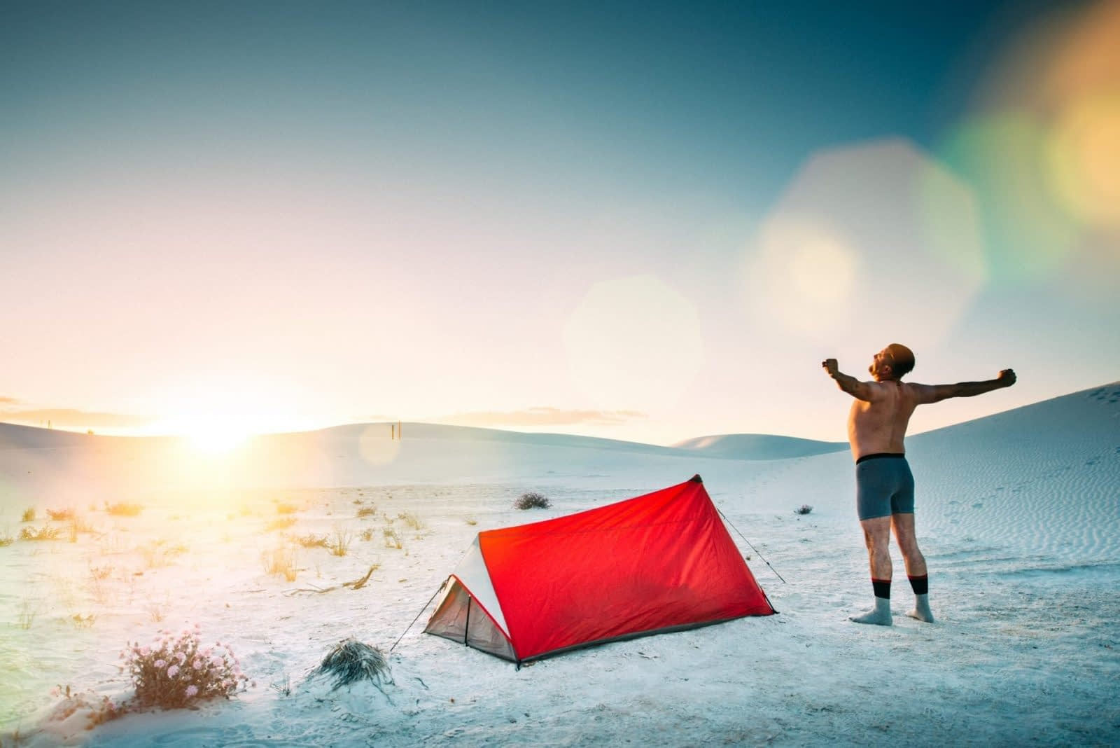 Backcountry Camping in The Desert