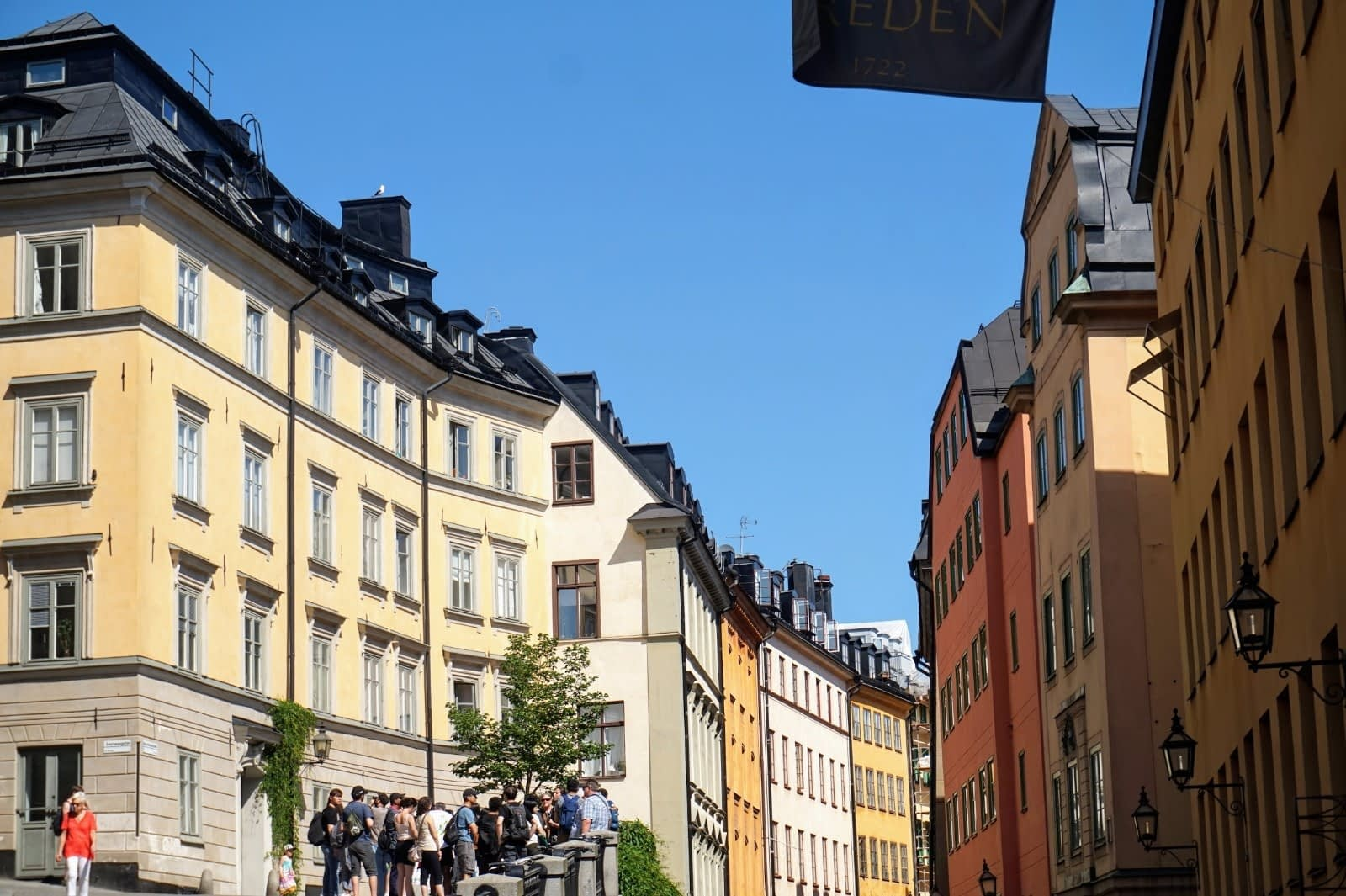 Colourful Houses & Narrow Streets of Gamla Stan, Stockholm 15