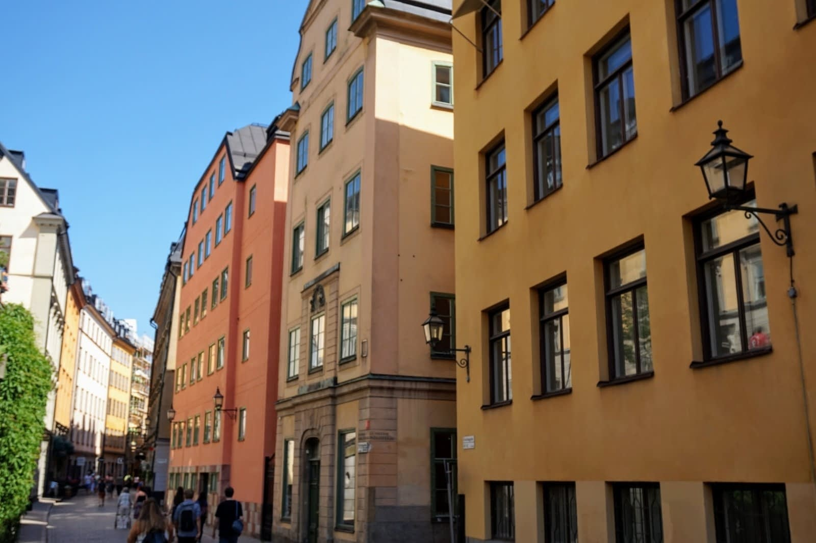 Colourful Houses & Narrow Streets of Gamla Stan, Stockholm 7