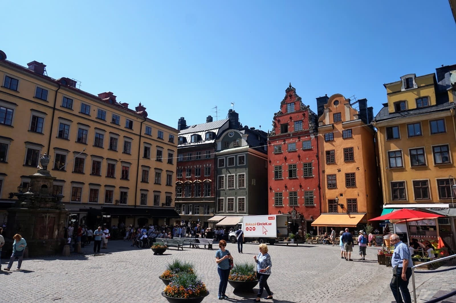 Colourful Houses & Narrow Streets of Gamla Stan, Stockholm 2