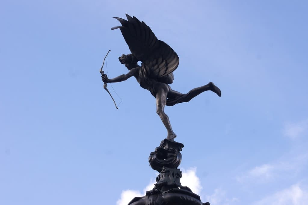 Statue of Eros, Piccadilly Circus, London