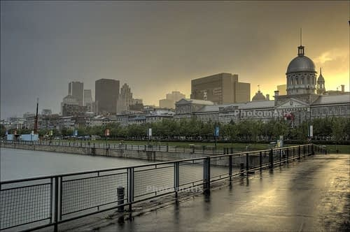 montreal old port photo