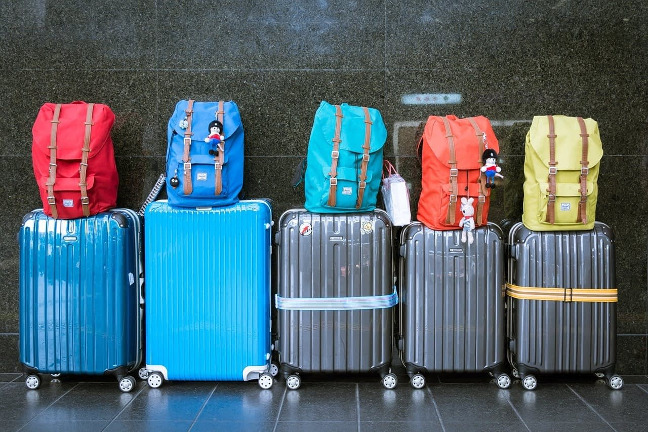 Travel suitcase and luggage