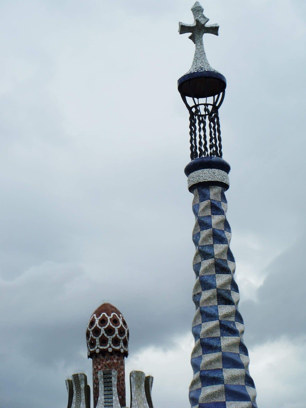 Gaudi's Gingerbread House in Parc Guell Looks Delicious 1