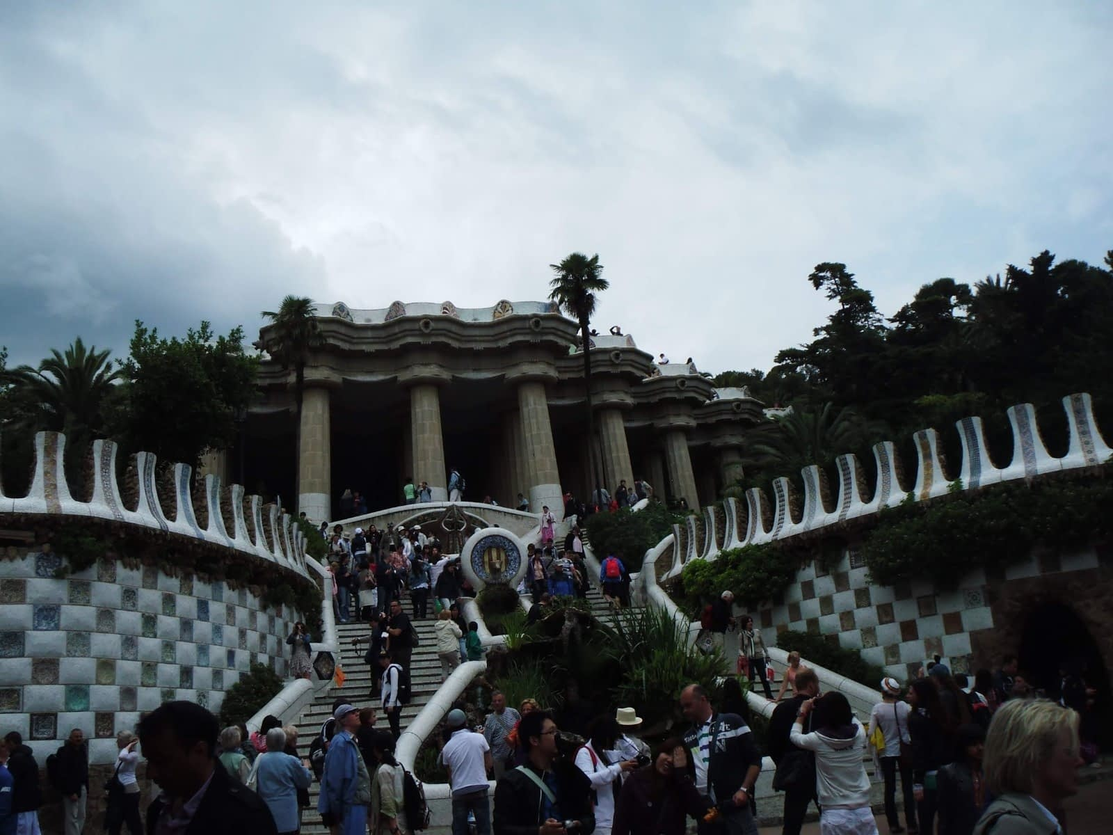 Gaudi's Gingerbread House in Parc Guell Looks Delicious 7