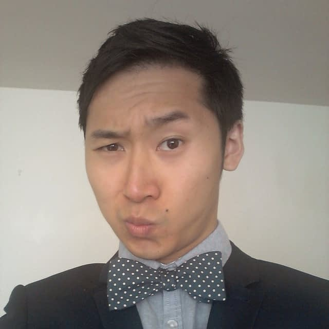 Blue Steel and Mrs Bow Tie - a potent combo