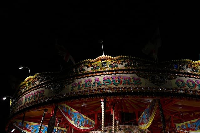 Merry-Go Round, Southbank, London (2)
