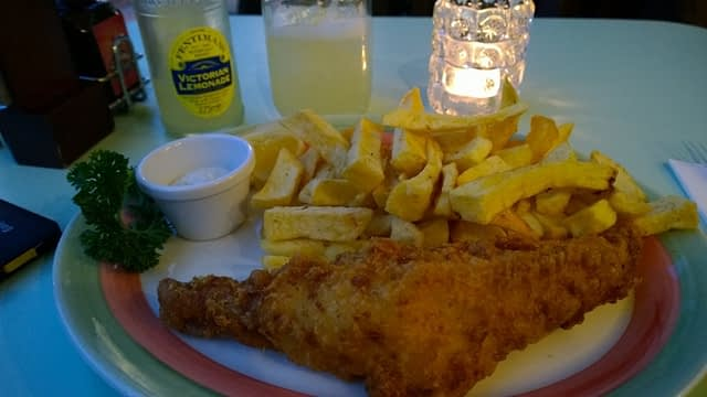 Poppies Fish and Chips - cod